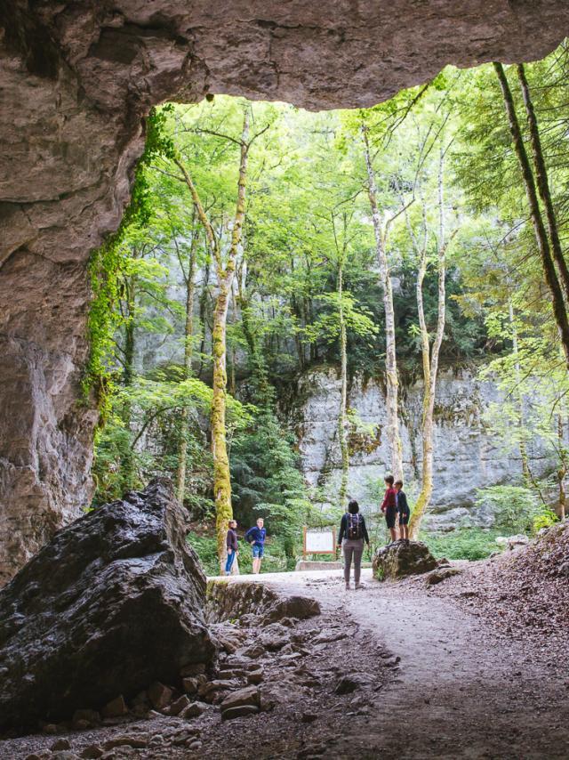 Grottes De Saint Christophe, Visite En Famille
