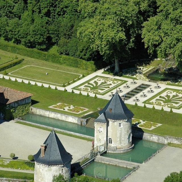 Jardin Chateau Touvet