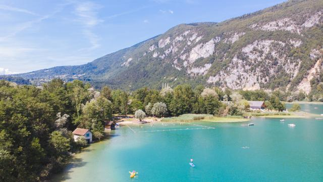 Lac Aiguebelette, Chartreuse