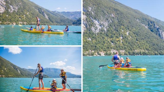 Lac Aiguebelette Paddle Canoe