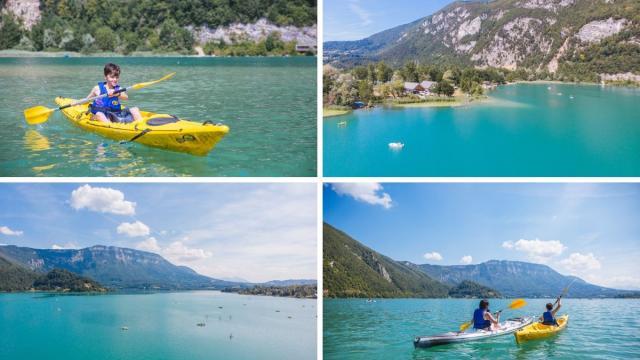 Lac Aiguebelette Paysages