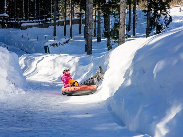 Col Marcieu Snowtubing