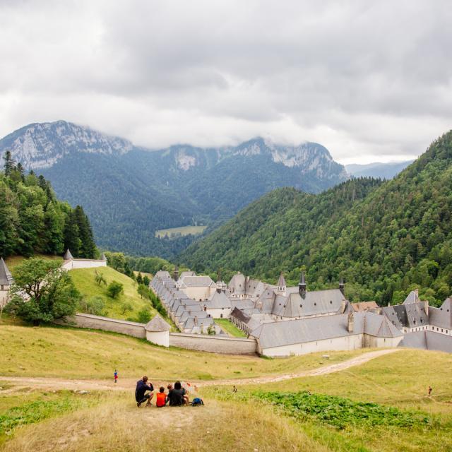 Monastère De La Grande Chartreuse En été