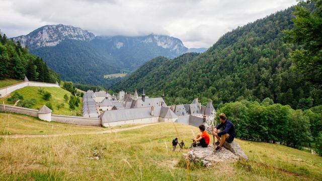 Monastère De La Grande Chartreuse En Famille