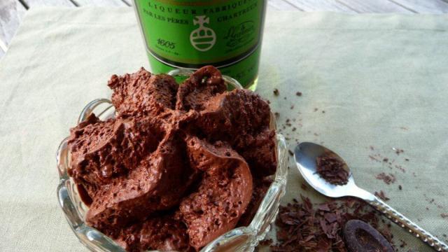 Mousse Chocolat à La Chartreuse