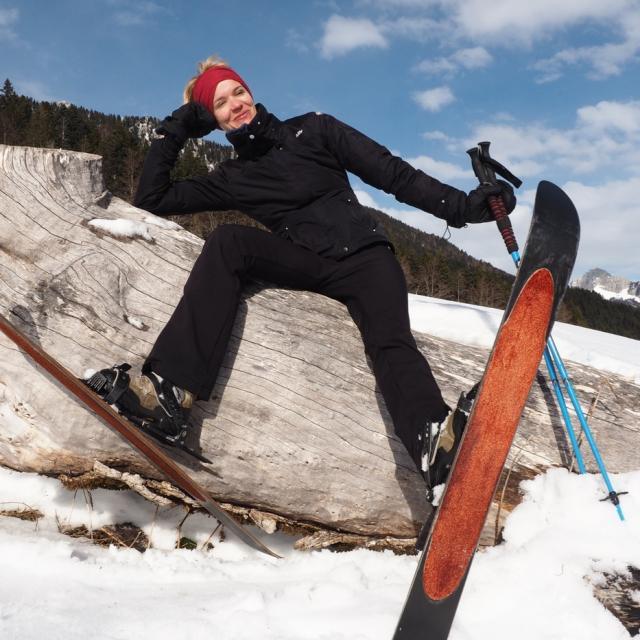 ski hok en Chartreuse
