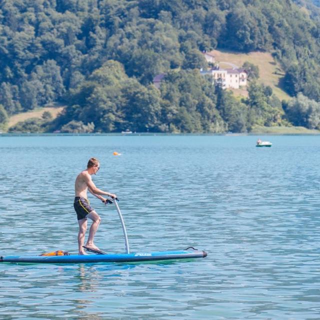 Paddle Hobbie Mirage Lac Aiguebelette