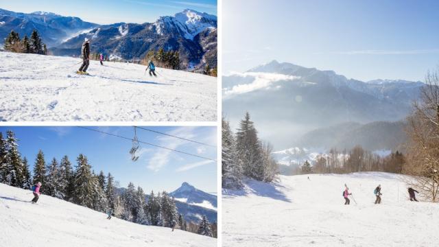 Piste Goulet Station Ski Saint Pierre Chartreuse