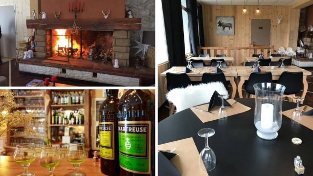 Restaurant Trois Sommets Chartreuse