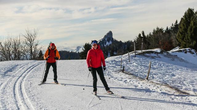 Ski Fond Charmant Som
