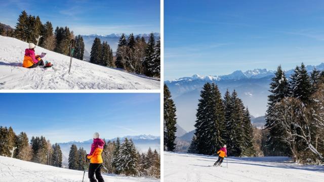 Ski Alpin à St Hilaire Du Touvet En Chartreuse