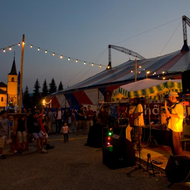 Festival Brel 2007, St Pierre de Chartreuse