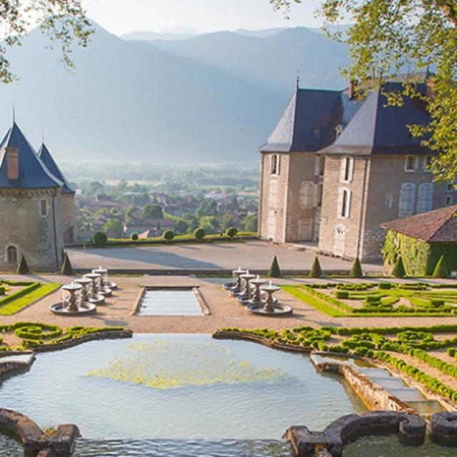 Jardins et chateau du touvet