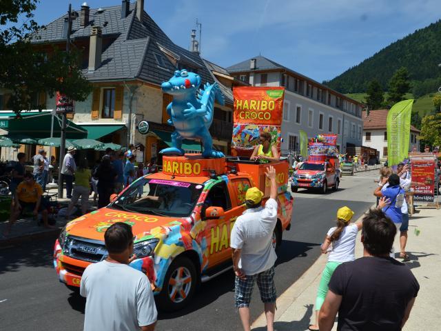 Caravane Tour de France Sappey en Chartreuse