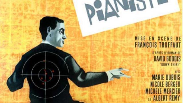 Affiche Film Tirez Sur Le Pianiste