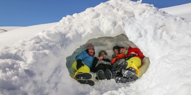 L'igloo est construit !