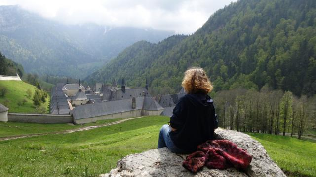 Marche Silence Monastere Francois Ruby