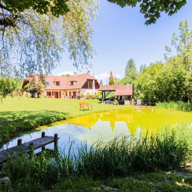 L'étang De La Tourne, Maison Avec étang