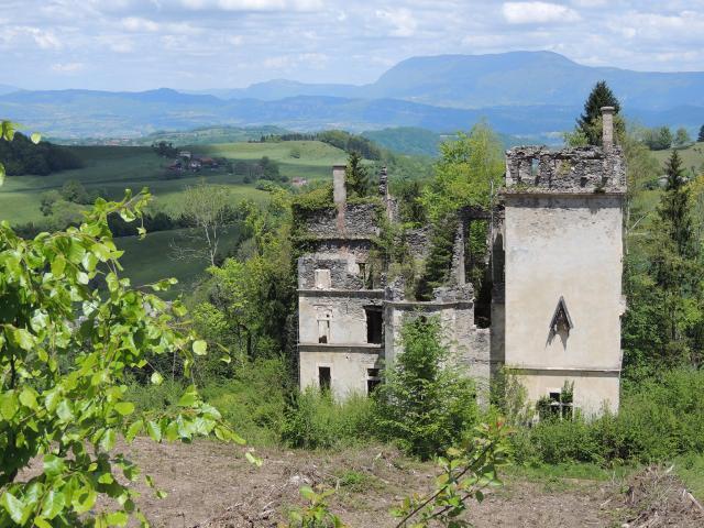 Ruines Chateau Saint Sixte Bruno Barre 2013 Bd
