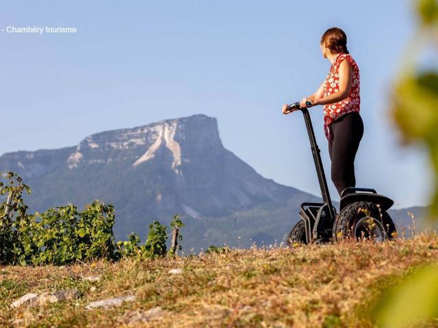 Segway Dans Les Vignes Chartreuse Porte De Savoie