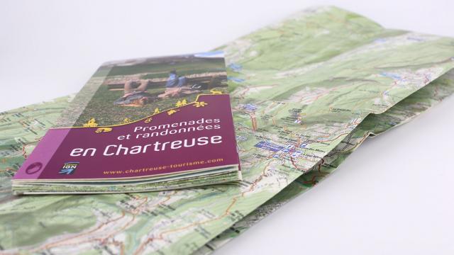 Cartoguide Promenades et randonnées en Chartreuse