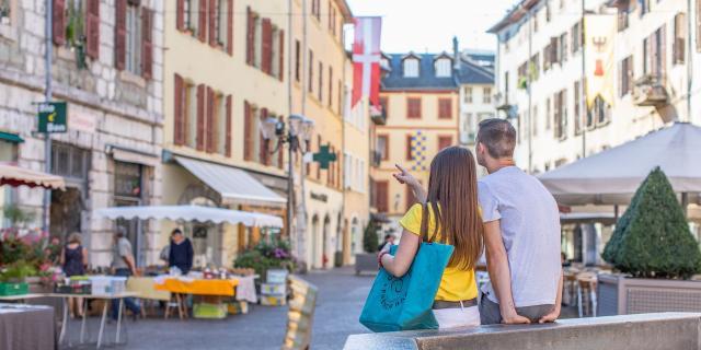 Centre ville historique de Chambéry