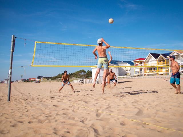 Beach Volley Chatelaillon Kezziahland