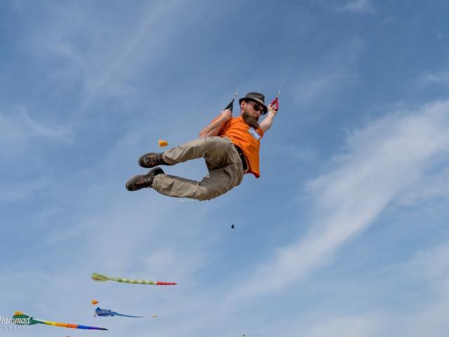 Kite Jump Sam Hammad