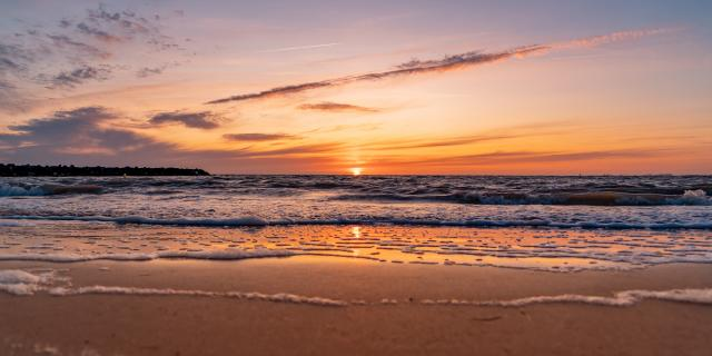 Sunset Plage Sam Hammad