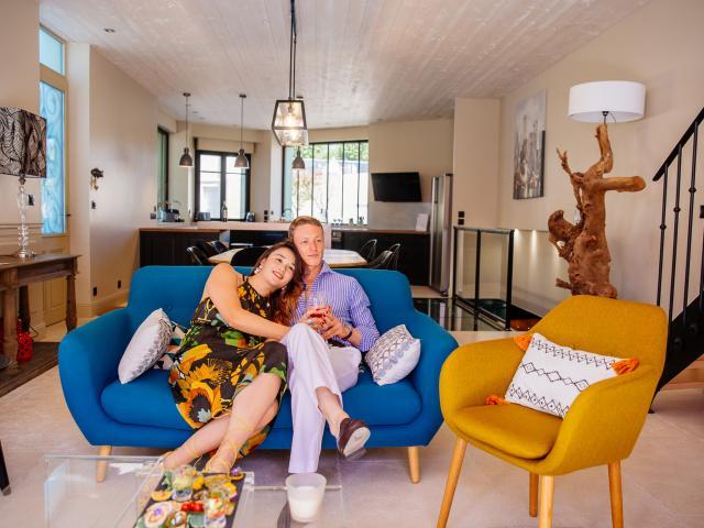 Couple Villa Marquise Conte