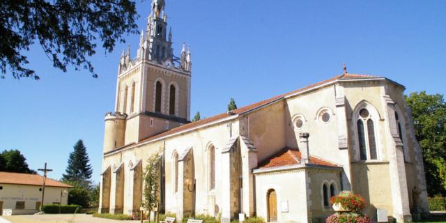 Eglise Notre Dame de Lit | Côte Landes Nature