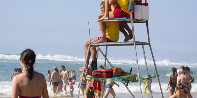 Surveillance de la plage au Cap de l'Homy / Lit et Mixe | Côte Landes Nature