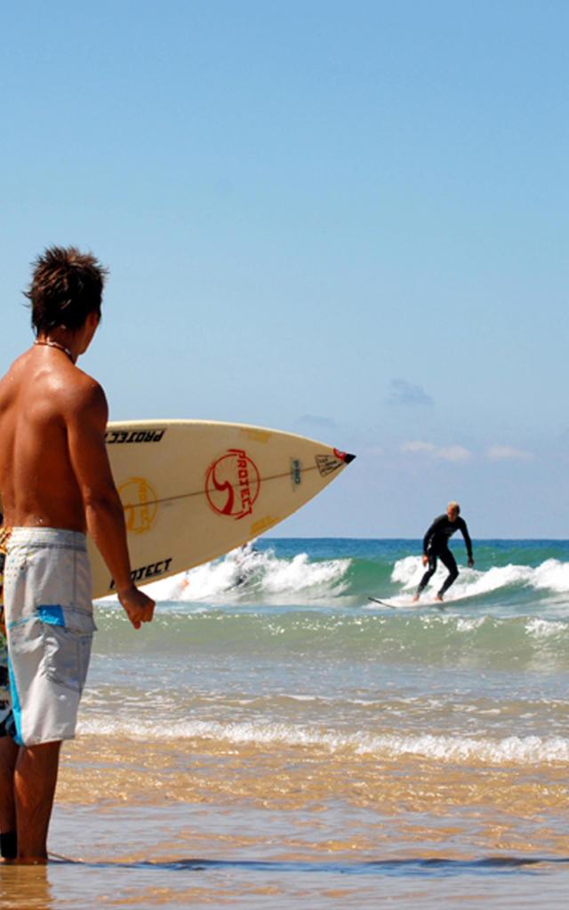 Surf les plages landaises