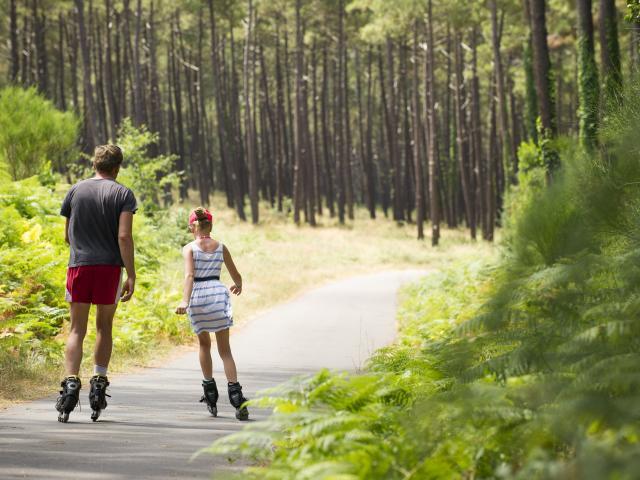 57 km de voies vertes en Côte Landes Nature