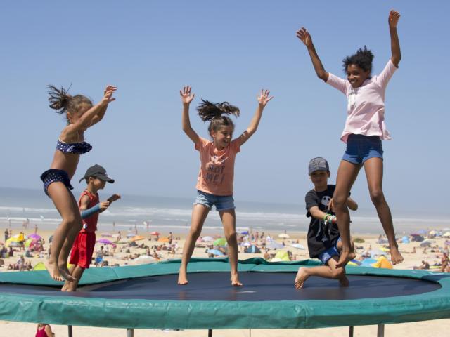 Jeux sur la plage | Côte Landes Nature