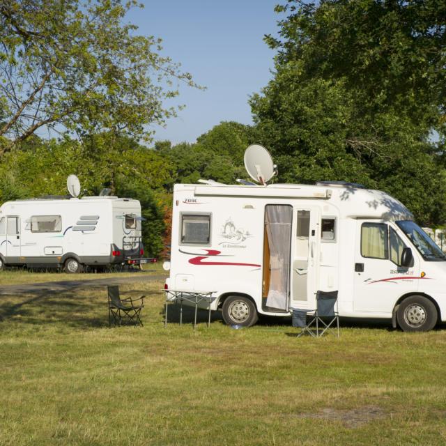Aire de Camping Car en Côte Landes Nature
