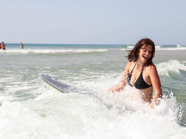 Surf en Côte Landes Nature