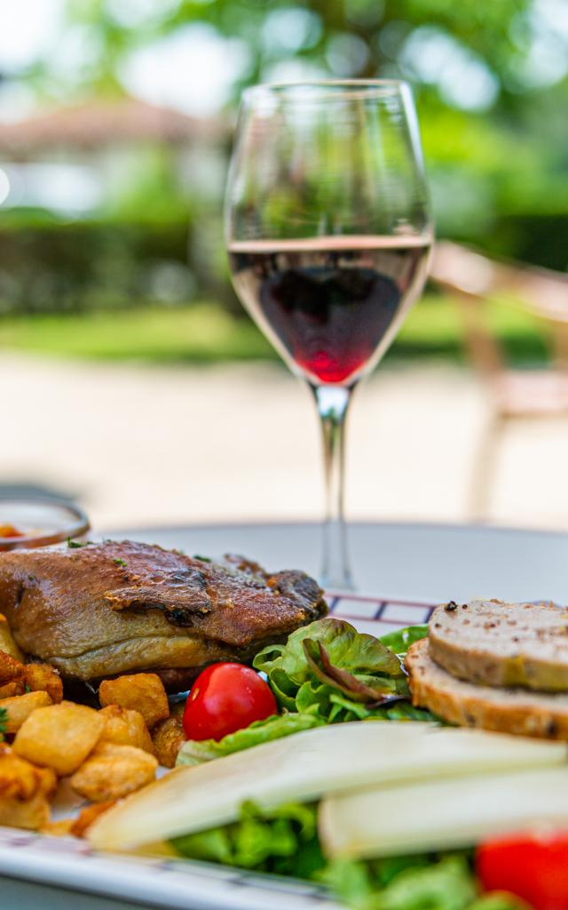Gastronomie Landaise, RDV à L'estanquet à Lit-et-Mixe