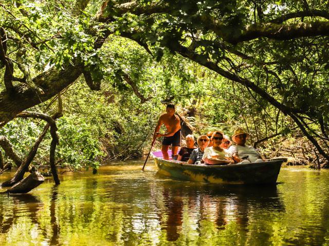 Le Lac de Leon et ses Bateliers