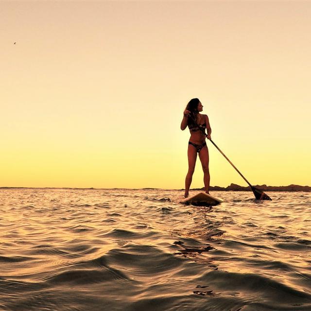 Paddle sur le Lac de Léon
