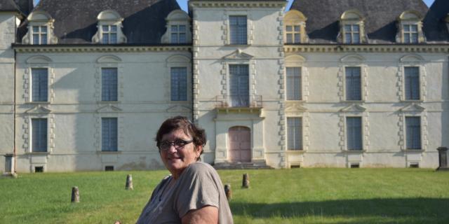 Marie-Clair, Greeter au Château de Poyanne
