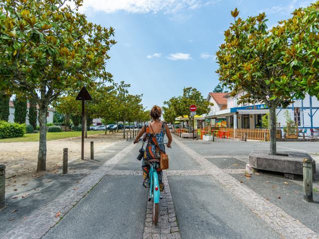 Balade en vélo dans Lit-et-Mixe