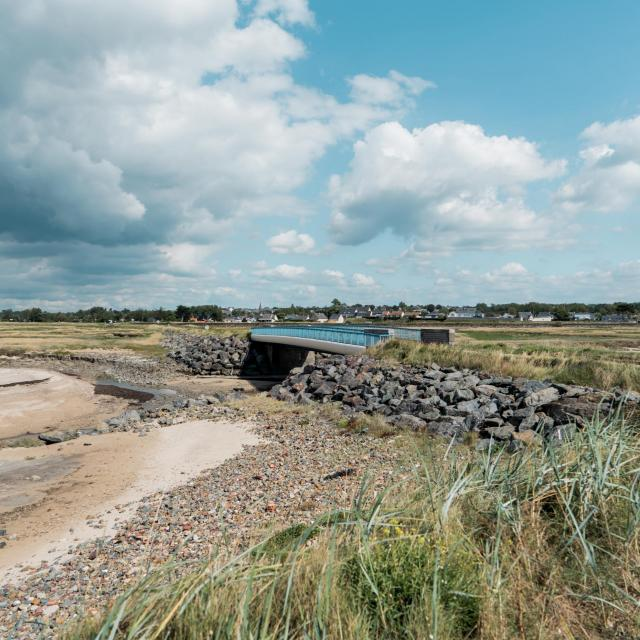 Havre agon coutainville la plageles dunes et herbus