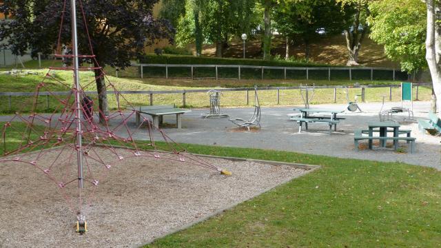 Parc des sports de Coutances aire de jeux pour enfants