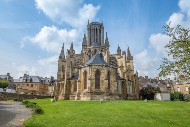 Arriere Cathedrale De Coutances