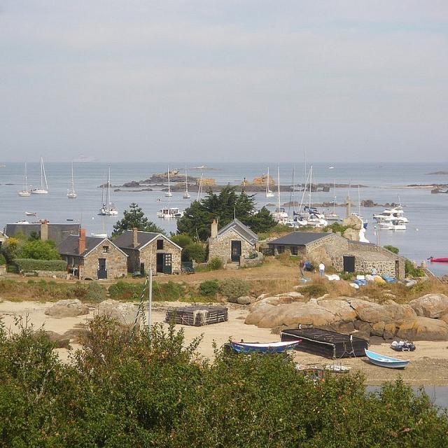Chausey archipel en Normandie
