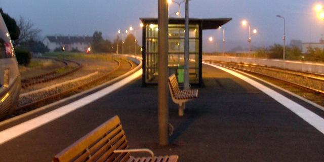 Quai de la Gare de Coutances