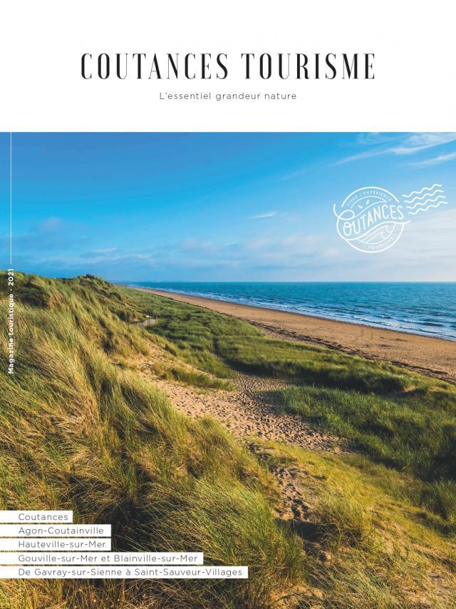 Couverture du magazine touristique de Coutances tourisme édition 2021