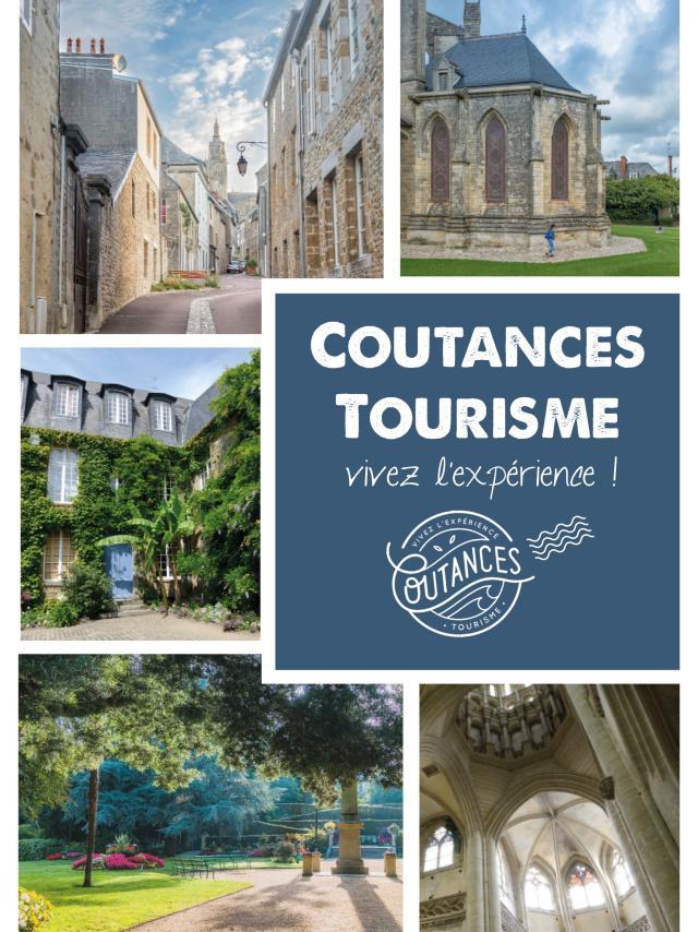 Couverture du circuit de ville de Coutances édité par Coutances Tourisme