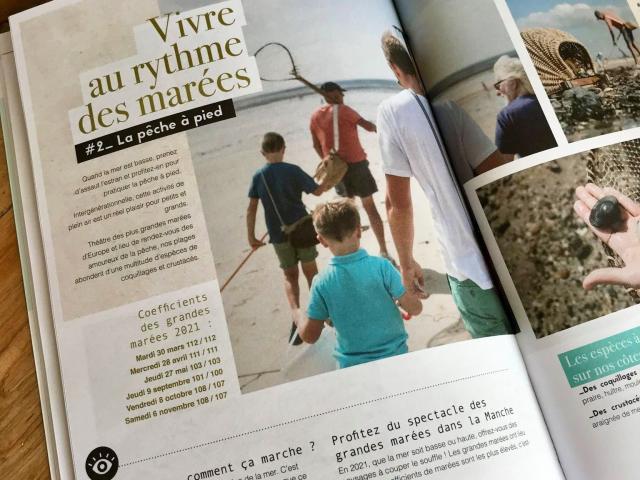 Brochures éditions 2021 de Coutances tourisme